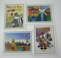 Vintage 1992 Looney Tunes Masterpieces Note Cards Pepe Le Pew, Bugs Daffy & More