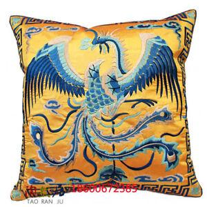 EMBROIDERD chinese unqiue pheonix Cushion Cover home fashion decor pillowcase