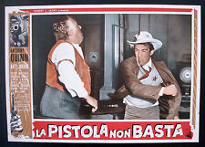 CINEMA-fotobusta LA PISTOLA NON BASTA quinn,jurado,spencer,whitney,HORNER