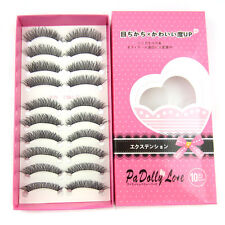 Hot HS-43 10 pairs/lot Thick Cross Charming False eyelashes Party eye lashes