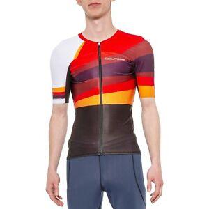 Louis Garneau Men Tri Course M-2 Triathlon Bike Jersey Top  Short Sleeve  XL