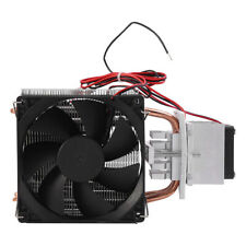 12V Thermoelectric Peltier Refrigeration Cooling System Kit Cooler Fan DIY New E