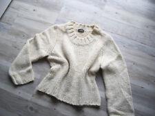 di bari, Damen Pullover, kuschelige Qualität, beige, Gr. 40