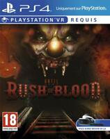 UNTIL DAWN RUSH OF BLOOD VR PSVR - PLAYSTATION 4 PS4 - NEW & SEALED