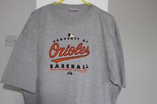 Men's Baltimore Orioles Official Baseball Grey T-Shirt - Size Large