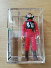 Star Wars Vintage Loose AFA Graded Figure - AFA 85 B Wing Pilot