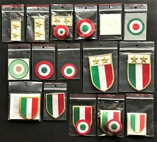 SCUDETTO/COCCARDE UFFICIALI-replica  MISTE official scudetto/coccade mix seasons