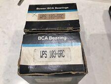 "Pair Of Federal Mogul WPS-103-GRC Insert Bearing 1-3/16"" w/ collar  NEW"