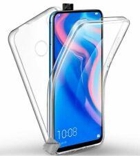Housse etui coque silicone gel 360 integrale Huawei Honor 9X + film ecran - TRAN