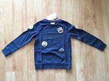 Name it NITJORGEN Sweatshirt dunkelblau in Gr.122-128 für Jungen. Neu