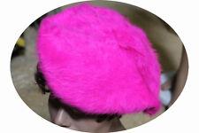 Béret fuchsia en angora deguisement costume fetes 50% angora 50% acrylic confort