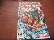 Master of Kung Fu Comic Book #110  Marvel Comics 1982 Sub Cover