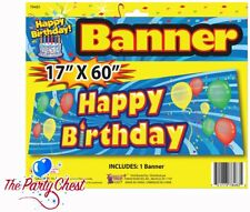 1.5M GIANT HAPPY BIRTHDAY BANNER Adults Kids Birthday Party Decoration 78483