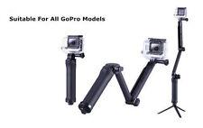 Sección SP GADGETS cabezal giratorio montaje en poste Para Cámaras Pro Hero Action GoPro Go