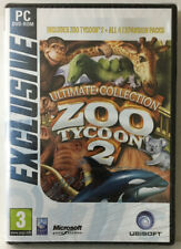 Ultimate Collection Zoo Tycoon 2 + 4 Expansion Packs (NEW PC Game Sealed See Pic