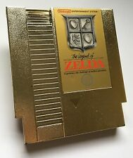Nintendo NES The Legend of Zelda Gold 5 Screw 5-Screw Video Game Cartridge