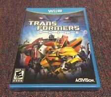 Transformers Prime  (Wii U, 2012) Brand New
