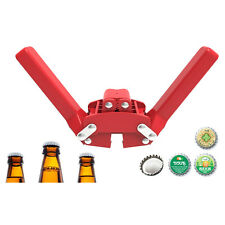 BEER BOTTLE CAP CAPPER Bottle Capper for Home Brew Beer Crown Caps on Reusable