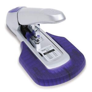 Blockheftgerät AV-69, silber / violett