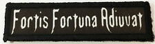 1x4 John Wick Fortis Fortuna Adiuvat Morale Patch Tactical Military Army Flag