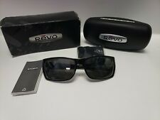 Revo Headwall Sunglasses Mahogany w/ Graphite Lenses Box, Case, Cloth, Booklet