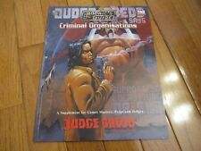 Judge Dredd Rpg The Rookie's Guide to Criminal Organisations