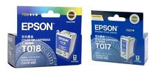 Genuine Epson 1 x T017 and 1 x T018 Ink Clearance Sale