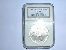2004-P Lewis & Clark Commemorative Silver Dollar NGC MS 69