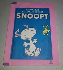 SNOOPY vintage 1985 Argentina UNOPENED stickers PACK variant PEANUTS CHARACTERS