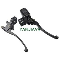 Black Brake Master Cylinder Clutch Levers for Kawasaki Vulcan EN 500 VN 800 900
