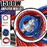 1500W Car Audio Amplifier Wiring Fuse Kit Subwoofer AMP RCA Installation Cable