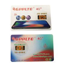 10Pcs Unlock Turbo SIM Card 4G LTE GPP for iPhone X 8 8 Plus 7 Plus 6S iOS 12.3