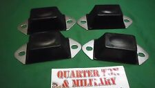 Jeep Willys MB GPW CJ2A M38 Axle snubber kit four bumpers