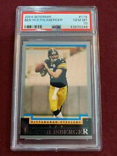 Ben Roethlisberger 2004 Bowman Rookie Card RC PSA 10 Germ Mt Steelers