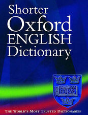 SHORTER OXFORD ENGLISH DICTIONARY, ON HISTORICAL PRINCIPLES: VOL. 2, N - Z., No