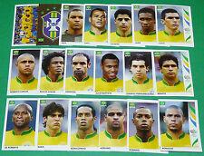 PANINI FOOTBALL GERMANY 2006 BRESIL BRASIL AURIVERDE WM COMPLET FIFA WORLD CUP