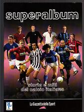 ALBUM FIGURINE - SUPERALBUM storia e miti del calcio italiano - VUOTO