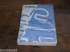MANUEL REVUE TECHNIQUE D ATELIER YAMAHA YZ 250 2004 S SERVICE MANUAL 250YZ YZ250