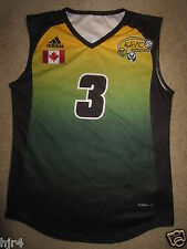 University of Alberta Pandas Volleyball Game Used Adidas Jersey Womens M Medium