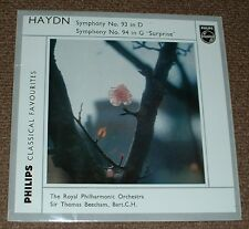 PHILIPS GBL 5632 HAYDN symphony no.93 & 94 BEECHAM,UK MONO LP