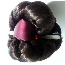 HANBOK HAIR Wig Brown Dress party Korean girl Women Pin binyeo band Traditional