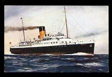 Shipping SS BRIGHTON Bannister 1944 artist drawn PPC