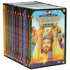 Greatest Heroes and Legends of the Bible 12 Movies on 3 DVD Set