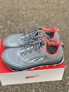 Altra Footwear Lone Peak All Whtr Low Women's Size 8.5 B Gray/orange Trail Shoe