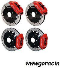 "Wilwood Disc Brake Kit,FITS 09-13 NISSAN 370Z,08-12 G37,07-08 G35,14/13"" Rotors"