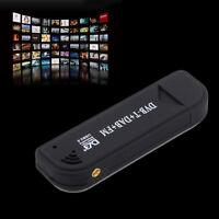 USB 2.0 Digital DVB-T SDR+DAB+FM HDTV TV Tuner Receiver Stick RTL2832U+R820T EK