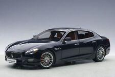 Maserati Quattroporte GTS 2015 azul oscuro, Coche modelo 1:18 / Autoart