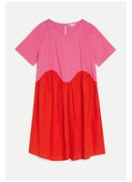 🔺 NEW Gorman Envie Red Pick Curve Wasit line Comfy  Smock Dress SZ 12/14/16🔺