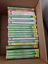 Lot Of 21 Sesame Street And Elmo DVDs