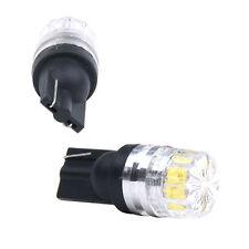 2x Nuevo Blanco LED SMD T10 W5W Lente Luz Coche Vehículo Bombilla Lámpara